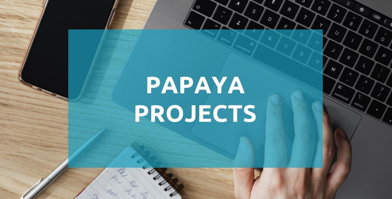 Papaya Projects project management app