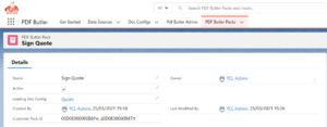 PDF Butler configuratie